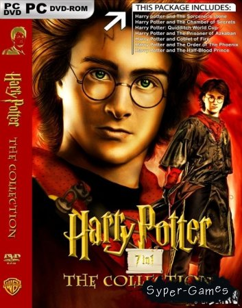 Harry Potter: The Collection 7in1 (Repack)