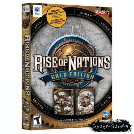 Rise of Nations Gold(2004/RUS)
