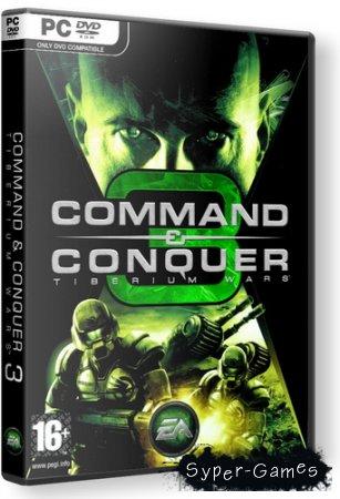 Command & Conquer 3: Tiberium Wars [ver.1.09] (2007/RUS/RePack)