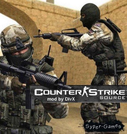 Counter-Strike: Source - mod by DivX (2010/RUS)