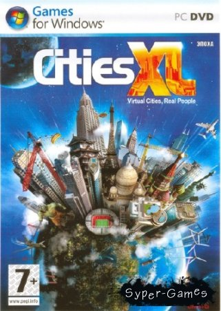 Cities XL (2009/ENG/Repack by R.G. ReCoding)