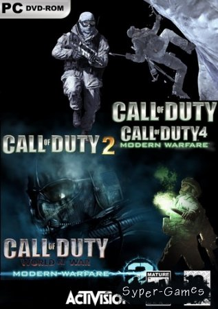 Антология Call of Duty (2003-2009/RUS/RePack)