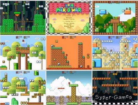 Super Mario War v1.7 April Fools Edition (+v1.8beta2) [2010]