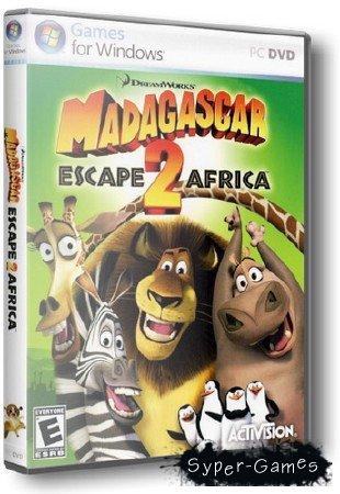 Madagascar: Escape 2 Africa / Мадагаскар 2 (2008/RUS/RePack 2.59 Gb)