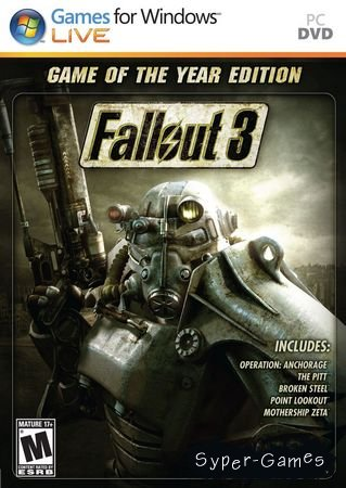 Fallout 3 Game of the Year Edition (2009/RUS/ENG/Repack)