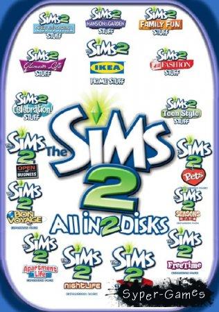 Антология The Sims 2 (2004-2008/RUS/ENG/Repack)