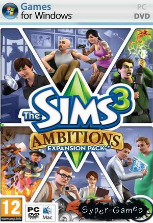 The Sims 3: Карьера / The Sims 3: Ambitions version 4.0.87.006001 (2010/RUS/RePack by Fenixx)