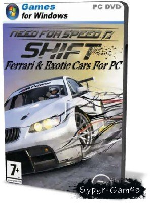 Need For Speed: Shift Ferrari & Exotic Cars For PC