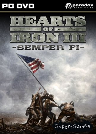Hearts of Iron 3: Semper Fi (2010/ENG)