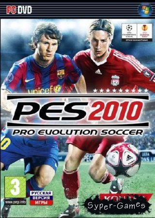 Pro Evolution Soccer 2010 - World Cup South Africa (ENG/RePack)