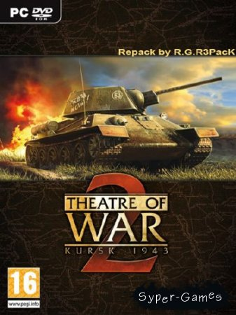 Theatre of War 2: Kursk 1943 Repack by R.G.R3PacK (2009/ENG/RUS/PC)