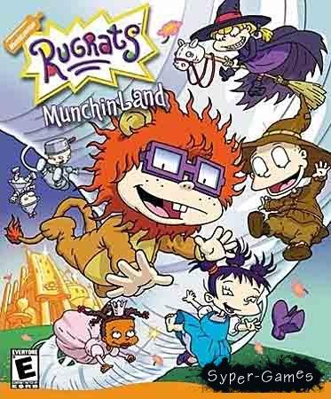 Rugrats: Munchin Land / Ох уж эти детки: Волшебник Леденцового города (PC/Rus)
