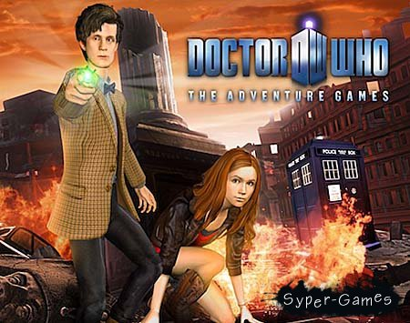 "Doctor Who - The Adventure Games: Episode 3 ""TARDIS"" (PC/2010/En)"