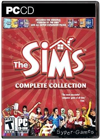 The Sims: Complete Collection / Первая версия игры и все 7 аддонов к ней