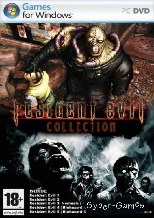 Обитель зла / Resident Evil - Collection (1997-2009/RUS/ENG)