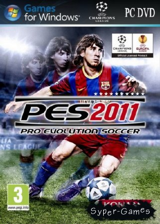Pro Evolution Soccer 2011 (2010/RUS/FRA/RePack by Shepards)