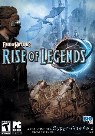 Rise of Nations: Rise of Legends (2006/PC/Лицензия/1.3Gb)