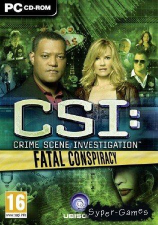 CSI: Fatal Conspiracy (2010/ENG/1.96Gb)