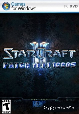 StarCraft 2: Wings of Liberty Patch v1.1.1.16605 (2010/US/EU/RU/PC)