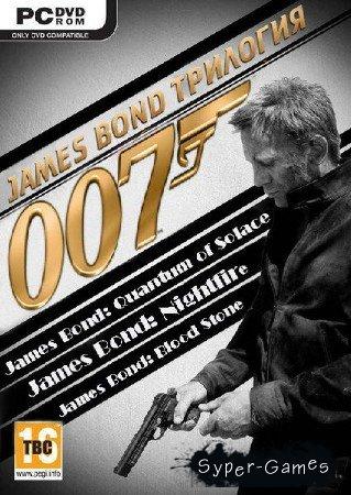 Трилогия: James Bond 007 (2010/RUS/RePack от R.G. ReCoding)