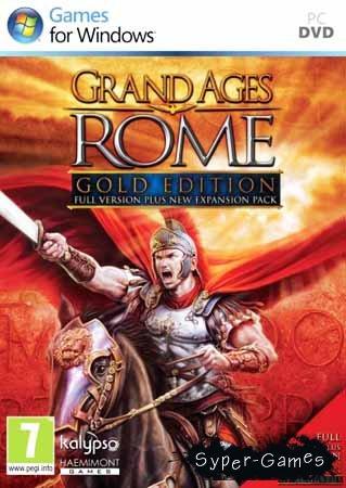 Grand Ages Rome - Правление Августа Gold Edition (PC/2010/FULL RUS)