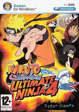 Naruto Shippuden Ultimate Ninja 4 PC Version (RU)