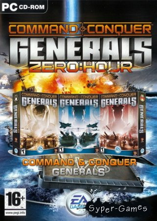 Command & Conquer: Generals + Zero Hour (2003/ENG/RUS/RePack by R.G.Catalyst)