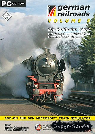 Train Simulator GERMAN RAILROADS/PRO TRAIN 2 (PC/FULL)