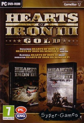 Hearts Of Iron III Gold Edition (2011/ENG/PC)