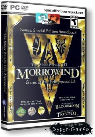 The Elder Scrolls III: GOTY SE (2003/RUS/RePack by R.G. Catalyst)