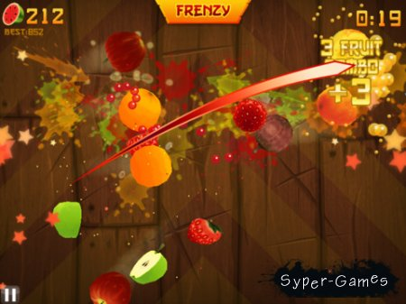 Fruit Ninja HD v.1.2.2 [iPad]