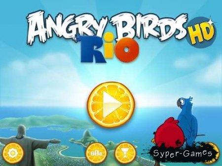 Angry Birds Rio HD v.1.1.0 [iPad]