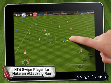 FIFA 11 by EA SPORTS for iPad (World) v.1.0.1 [iPad]