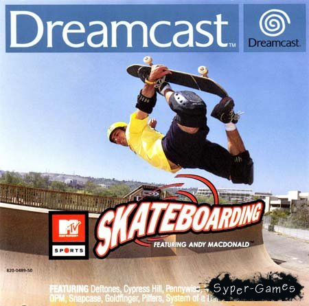 MTV Sports: Skateboarding featuring Andy McDonald (PC)