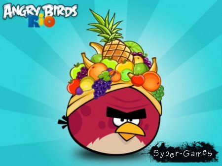 Angry Birds Rio v.1.2.0 [iPhone/iPod Touch]+ HD версия для iPad