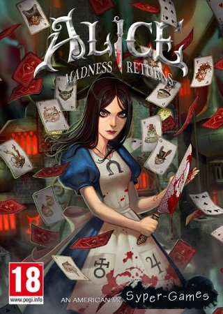 Alice: Madness Returns (2011/ENG/MULTi6/SKIDROW)