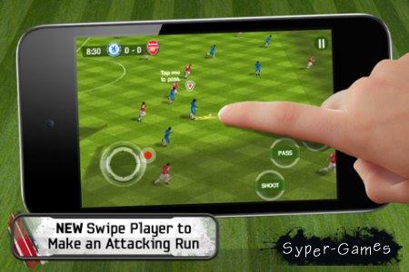 Fifa 11 / Фифа 11 (v.1.2.0) — неофициальный мод для iPhone 3G и iPod Touch 2g