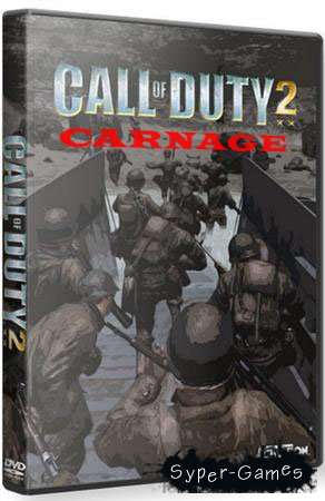 Call of Duty 2 - Carnage mod (PC/2011/RU)