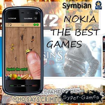 Сборник Лучших Игр для телефонов Nokia [2010/Symbian 9.4]