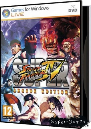 Super Street Fighter 4 Arcade Edition (2011/PC/RUS) RePack by Ultra