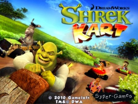 Shrek Kart HD v.1.0.9 [iPad]
