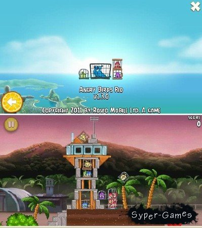 Angry Birds Rio v.1.3.0 (2011/ENG/Symbian^3)