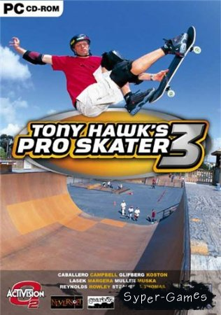 Tony Hawk's Pro Skater 3 (2001/PC/RUS)
