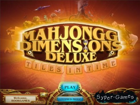 Mahjong Dimensions Deluxe Tiles in Time