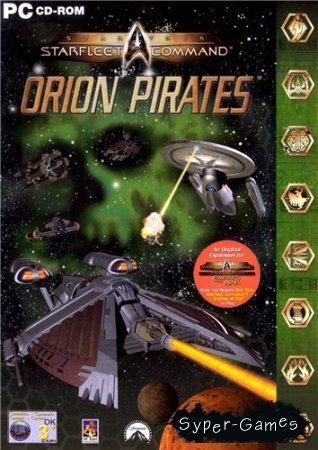 Star Trek: Starfleet Command Orion Pirates (2001/PC/RUS)