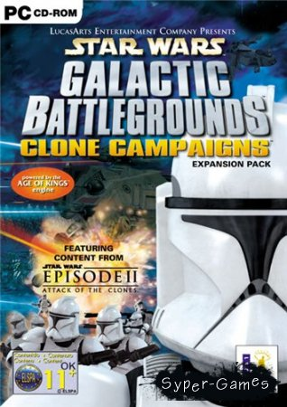 Star Wars: Galactic Battlegrounds Clone Campaigns (2001/PC/RUS)