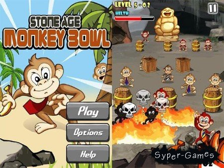 Monkey Bowl (1.0) [Аркада, ENG][Android]
