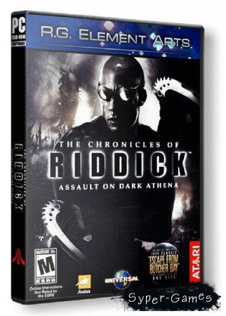 The Chronicles of Riddick Gold [v1.01] (2009/RUS/ENG RePack от R.G. Element Arts)