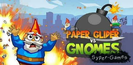 Paper Glider vs. Gnomes (1.2) [Arcade, ENG][Android]