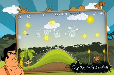 Angry Tarzan - Игра для Android